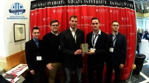 Wręczenie nagrody IBM Bright ICT Cyberwatch  -  Association for Information Systems Student Chapter 2016 Międzynarodowy sukces studentów AiB