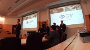 Cyberwatch Prezentacja podczas finału konkursu  -  Association for Information Systems Student Chapter 2016 Międzynarodowy sukces studentów AiB